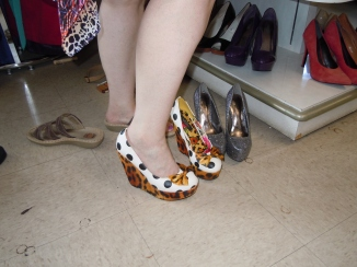 Cute shoes...Thrifty